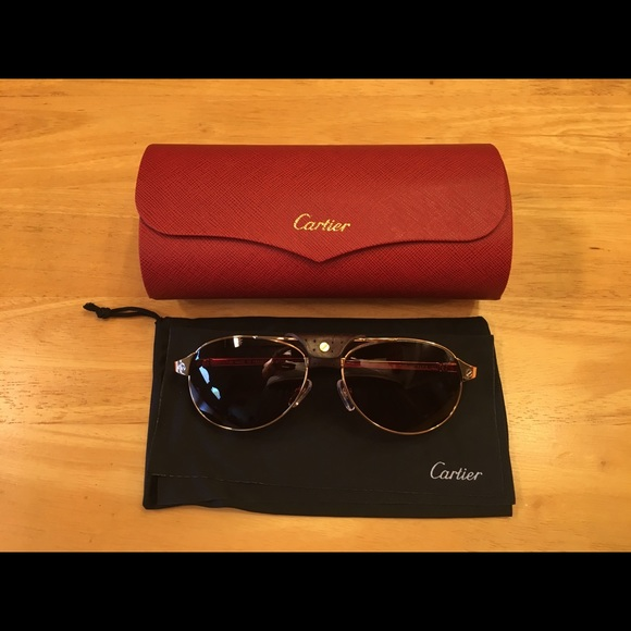 Cartier Other - Cartier Santos-Dumont Sunglasses 58-16-130